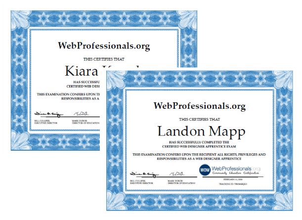 Branson Online School Students Receive Industry Certification In Web Design and Paid Internships