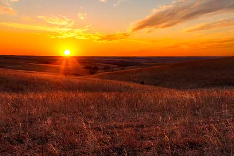 Flint Hills - Where my family homesteaded.
