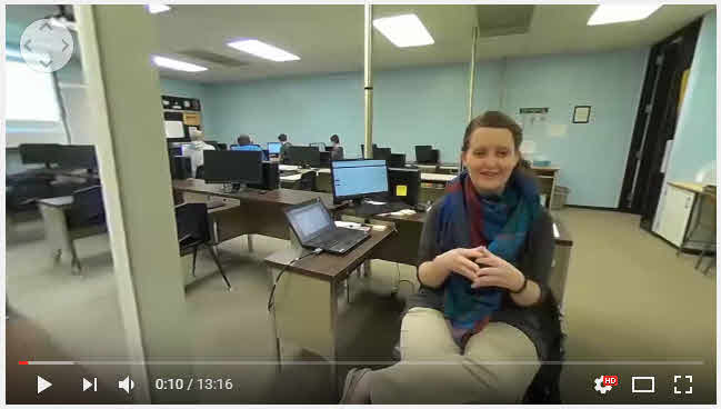 360 VR Video Interview with Coding and 3D Video Game Design, Web Design for Marketing, and Web and Mobile Application Design STEM and Business course Instructor