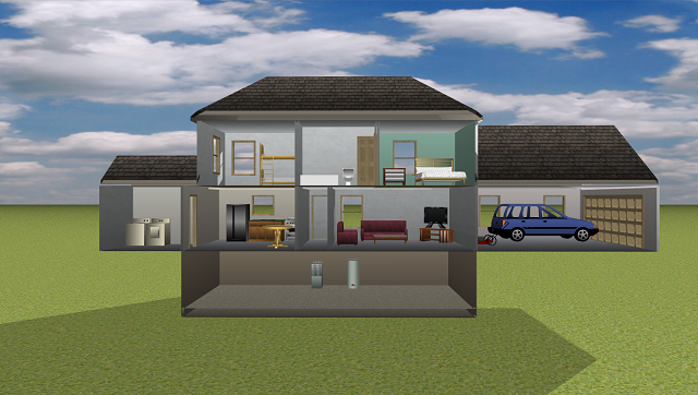 STEM Course Students Learn 3D CAD To Design Sustainable Homes