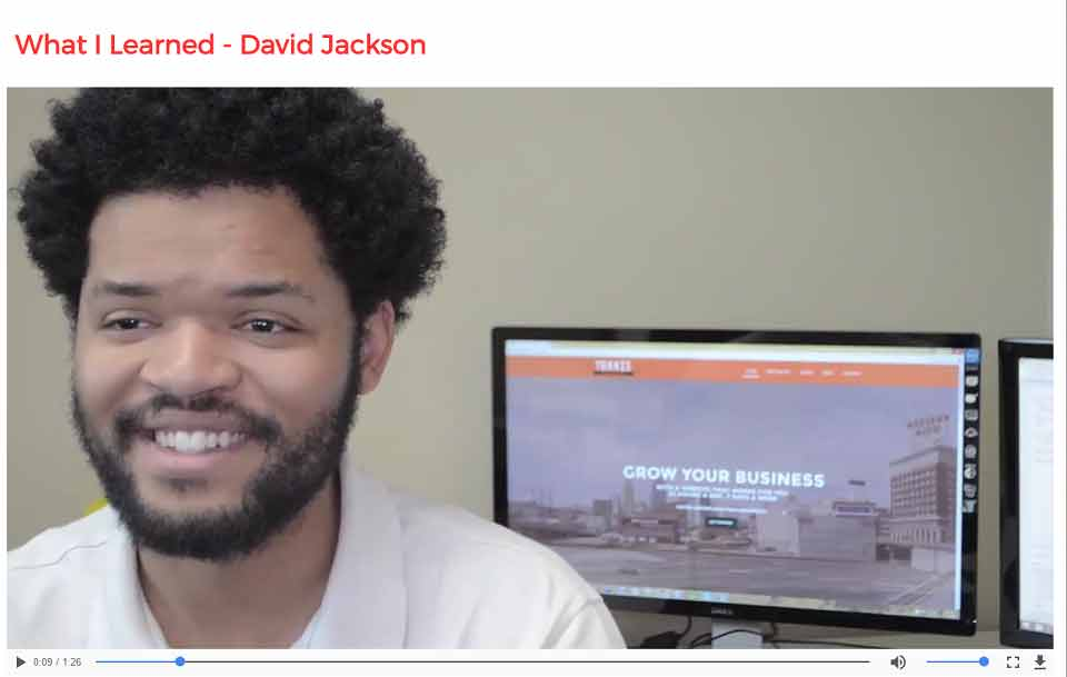 David Jackson – Web Design – iWD Course Advisor
