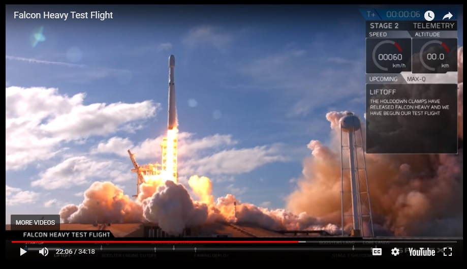 One of the most inspiring moments in STEAM 2018 – SpaceX and Elon Musk