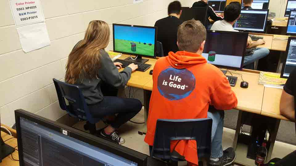 High School Launches STEAM Career Coding Courses
