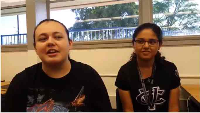 High School Students Talk About Their STEAM Coding Class.