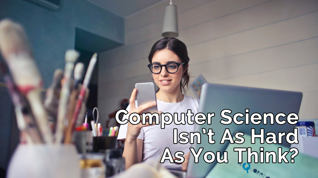 is computer science hard
