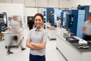 Woman Engineer STEM Career