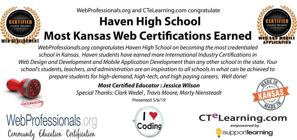 Industry Recognized Certification
