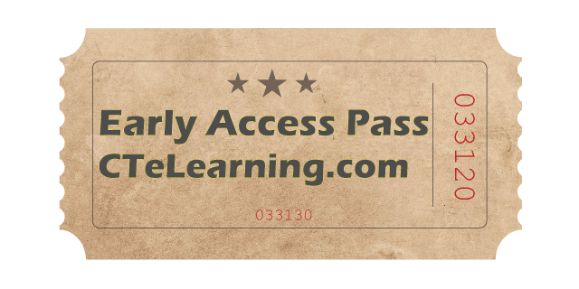 Free courseware early access career pathways teachers and their students